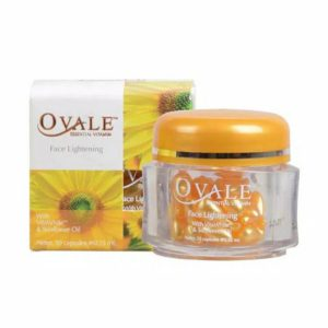 Ovale Essential Vitamin Face Oil Serum Lightening Sunflower Root Extract