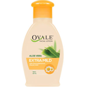 Ovale Facial Lotion with Chamomile Extract