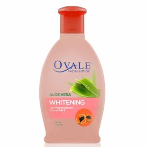 Ovale Facial Lotion with Papaya Extract