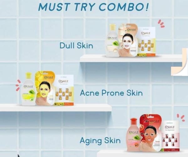 Ovale Skincare for Every Skin Type